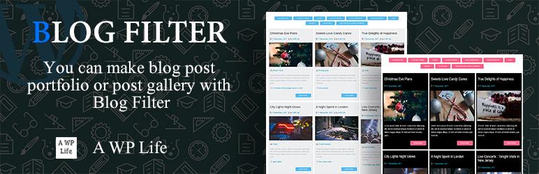 WordPress Blog Filter Plugin