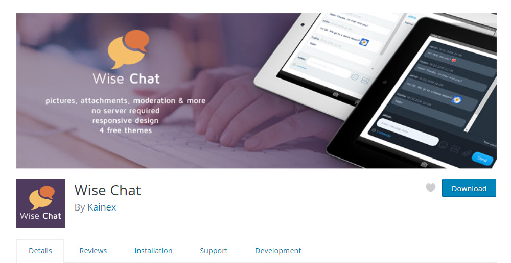 Wise Chat Live Chat Plugin