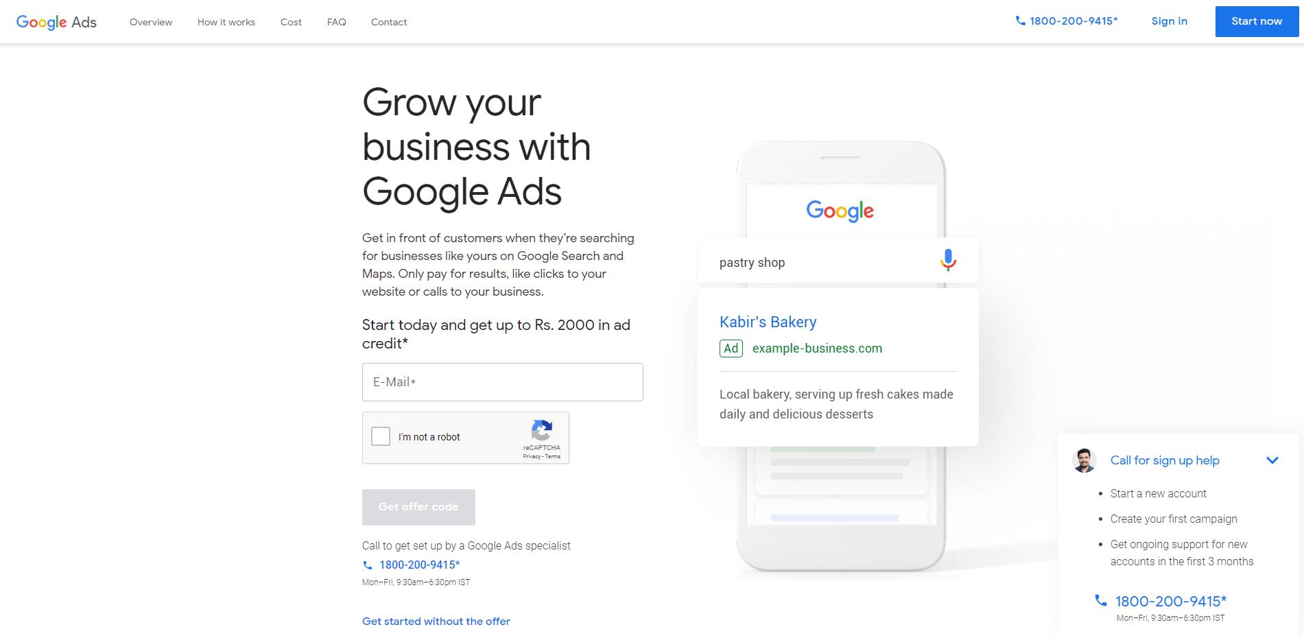 1. Google Adwords