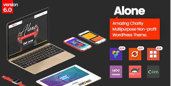Alone - WordPress Theme