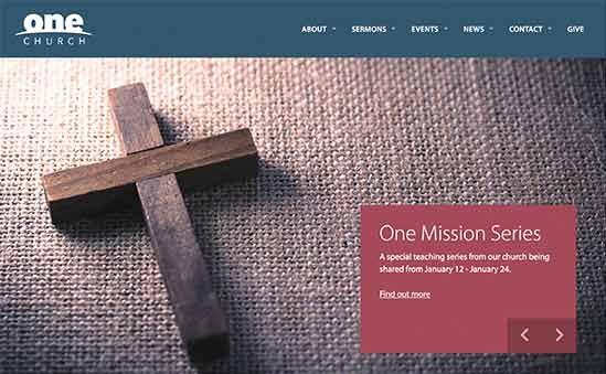 One Church theme