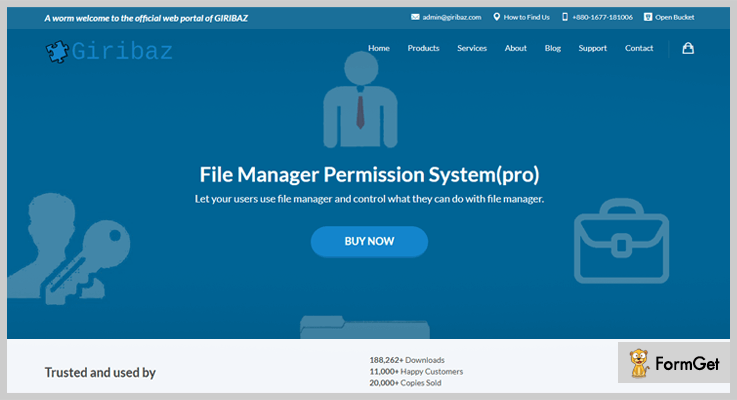 File Manager Pro– By Giribaz