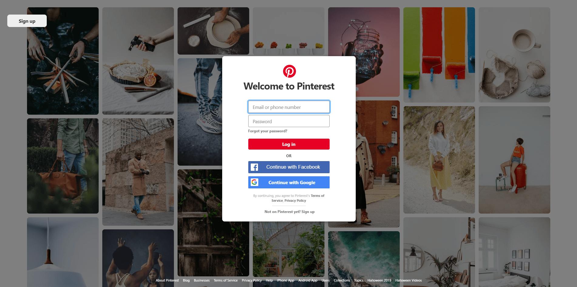 9. Pinterest