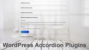 WordPress Collapsibles Accordion Plugins